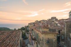 Capoliveri in het eiland van Elba, Italië royalty-vrije stock afbeelding