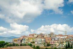 Capoliveri, ilha da Ilha de Elba, Toscânia Imagens de Stock
