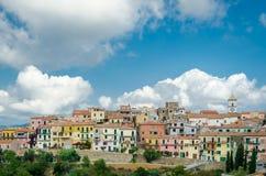 Capoliveri, ilha da Ilha de Elba, Toscânia Foto de Stock