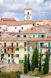 Capoliveri, Insel von Elba, Toskana stockbilder