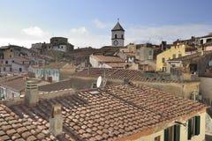 Capoliveri roofs, Elba Stock Photography