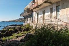 Capomulini_Sicily Stockfoto
