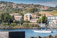Capomulini_Sicily Royalty Free Stock Photos