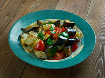Caponata Agrodolce Royalty Free Stock Photography