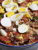 Caponata - italian dish stock image