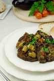 Caponata siciliana Stock Photography