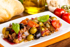Caponata Royalty Free Stock Photo