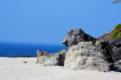 Capones-Insel Stockfotografie