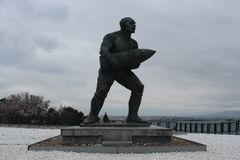 Caporal Memorial de Seyit images libres de droits