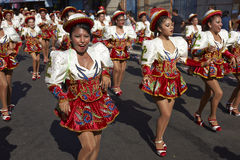 Caporales Dance Group - Arica, Chile Stock Photography