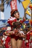 Caporales Dancer - Arica, Chile Stock Images