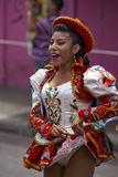 Caporales Dancer - Arica, Chile Royalty Free Stock Photography