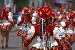 Caporales Dancer - Arica, Chile Stock Photo