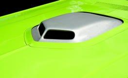 Capot adapté aux besoins du client coloré vibrant de voiture Photos stock