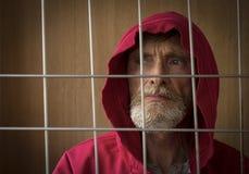 Capot d'homme Image libre de droits