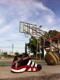 Capot de basket-ball Photos libres de droits