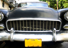 Capot de véhicule du Cuba image stock