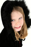 Capot noir de clavette Photo stock