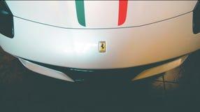 Capota de Ferrari Foto de Stock Royalty Free