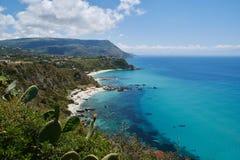 Capovaticano in Calabrië stock fotografie