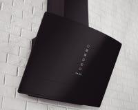 Cappa da cucina nera moderna immagine stock immagine di nero dell