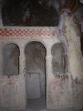 Cappadocia。 古老洞教会 免版税库存图片