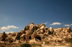 cappadocia使岩石环境美化 库存照片