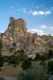cappadocia城堡 库存图片
