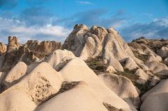 Cappadocia岩层 免版税库存照片