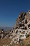 cappadocia洞城市火鸡 免版税库存照片