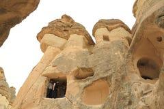 Cappadocia神仙烟囱 免版税库存照片