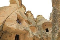 Cappadocia神仙烟囱 免版税库存图片