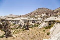 Cappadocia,土耳其 美丽的Pashabag谷(修士的谷) 库存图片