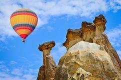 cappadocia καυτή Τουρκία μπαλονιών αέρα Στοκ Εικόνα