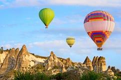 cappadocia καυτή Τουρκία μπαλονιών αέρα Στοκ φωτογραφίες με δικαίωμα ελεύθερης χρήσης
