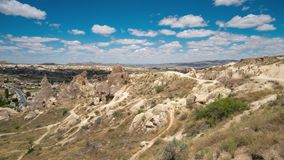 Cappadocia Τουρκία Timelapse Dawn στην κοιλάδα της αγάπης φιλμ μικρού μήκους