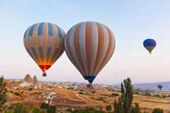 cappadocia воздушного шара летая горячий излишек индюк Стоковые Изображения