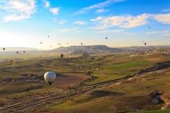 cappadocia воздушного шара летая горячий излишек Стоковое фото RF