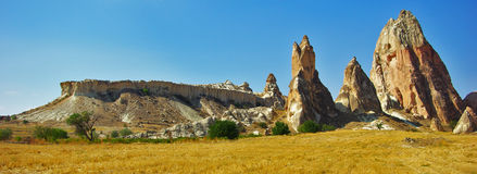 Cappadocia, необыкновенный утес Стоковое фото RF
