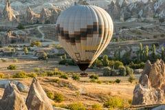 Cappadocia - полет воздушного шара Стоковое Фото