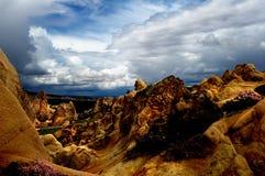cappadocia 中央土耳其 免版税库存图片