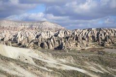 cappadocia 大横向山山 免版税库存照片
