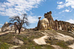 cappadocia谷 免版税图库摄影