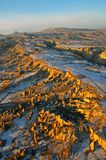 Cappadocia. Rugged terrain and landscape of Cappadocia, Turkey Royalty Free Stock Photography