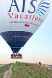 气球cappadocia热火鸡 免版税库存图片