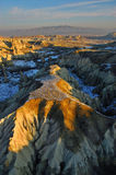 Cappadocia. Rugged terrain and landscape of Cappadocia, Turkey Stock Images