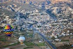 Cappadocia from air Stock Photography