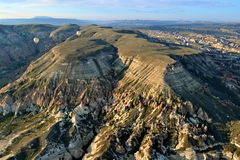 Cappadocia from air Stock Photos