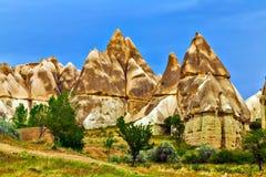 Cappadocia, Anatolia, Turkey. Goreme national park. Royalty Free Stock Photography