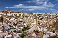 Cappadocia in Anatolia, Turkey. Open air museum, Goreme national p Stock Photos